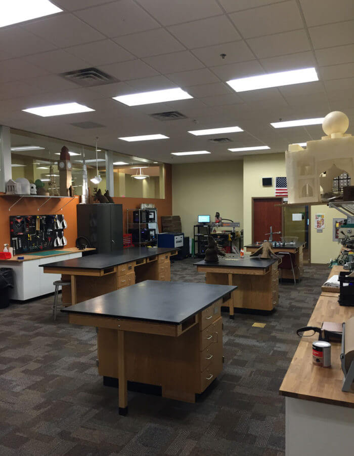 Career Academy South Bend STEM Engineering Lab