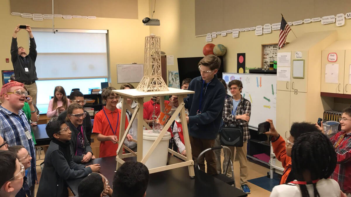 Career Academy South Bend Science Olympiad